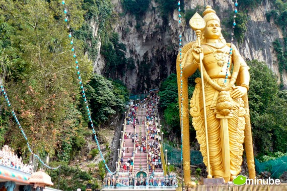8.) Batu Caves, Malaysia - The 19 Most Stunning Sacred Places Around the World