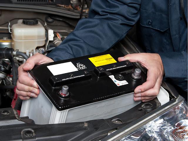 Comment enlever une batterie de voiture