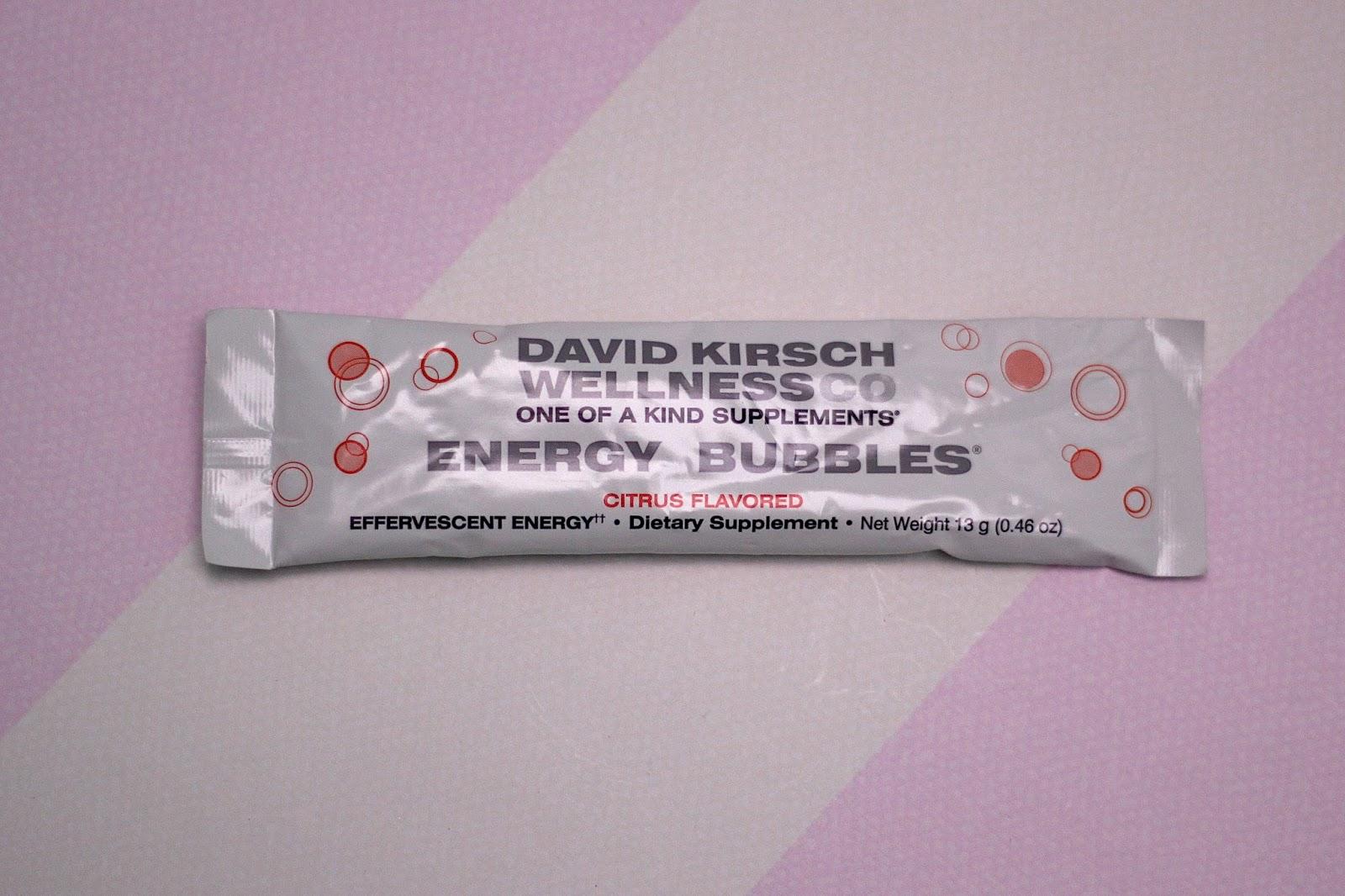 David Kirsch Wellness Energy Bubbles