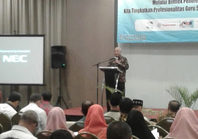 Bimtek Pendidikan Inklusif Bagi Guru SD di Kabupaten Karawang Tahun 2018