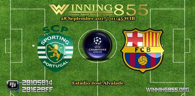 Prediksi Skor Sporting Lisbon vs Barcelona