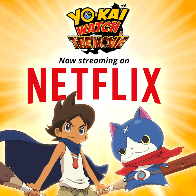 Ya disponible la película de Yo-Kai Watch en Netflix