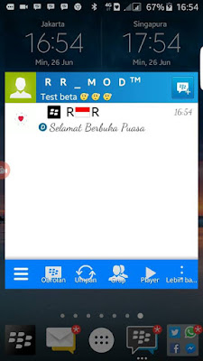BBM Mod Mini Windows Free Sticker Versi 2.2.1.45 Apk