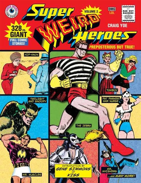 Super Weird Heroes Vol. 2
