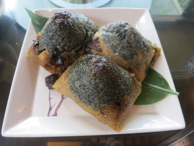 kurobuta rice dumplings