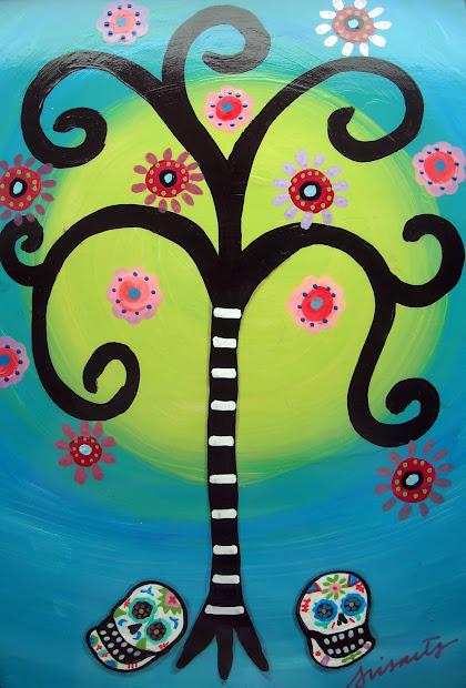 Modern Mexican Folk Art Paintings