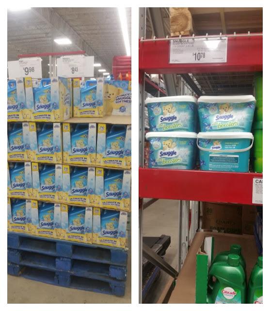"Snuggle® products at SAM""S CLUB at an incredible price! #SnuggleUpMoments #ad"