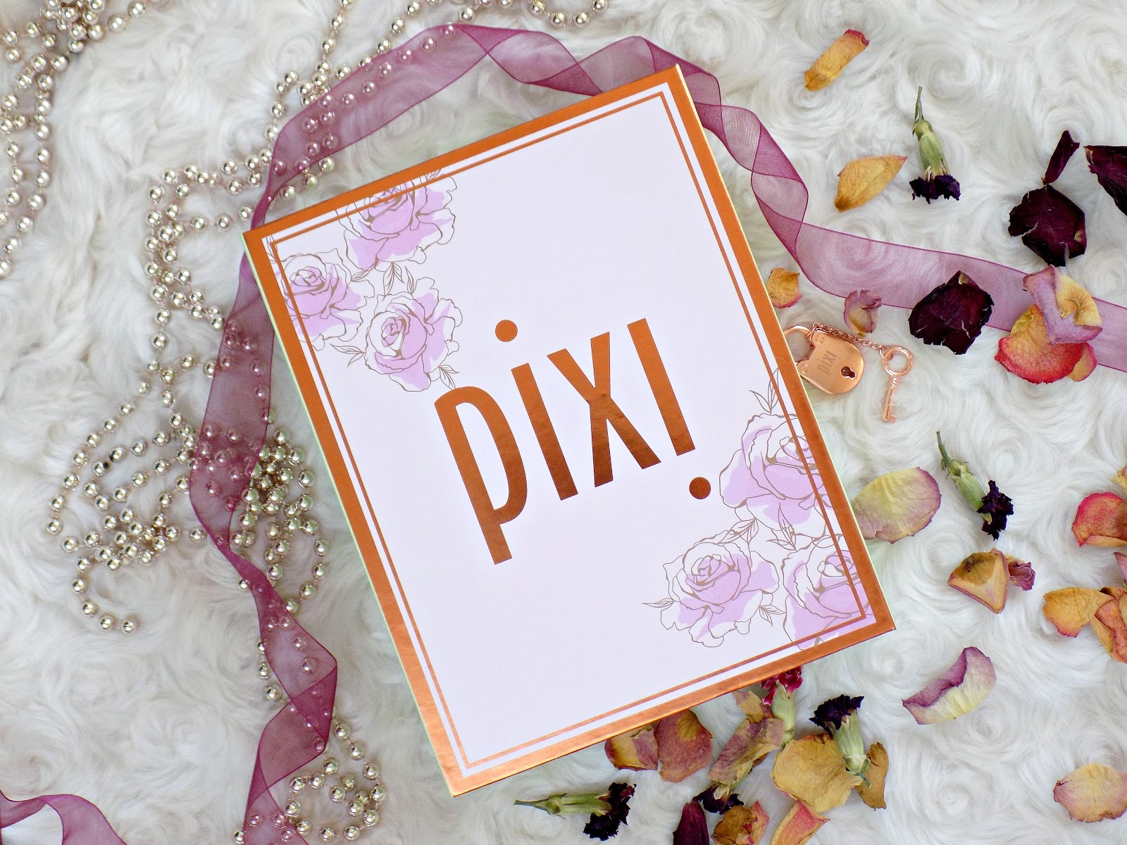 Pixi PR package, rose skin and lip treats