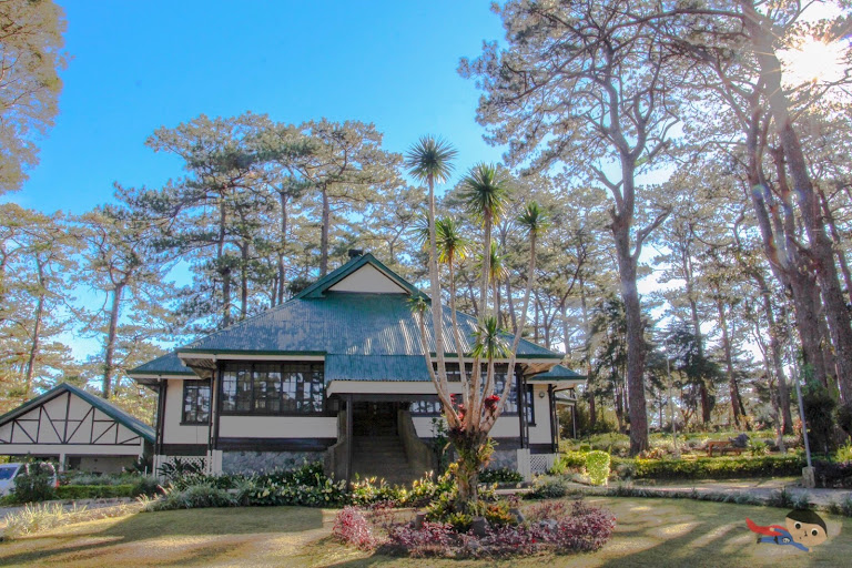 Cabin-like houses in Baguio City