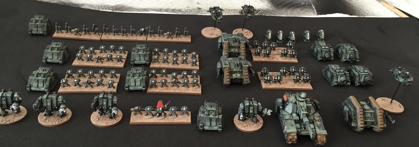 40k Hobby Blog: Epic 30K Troop & Army Shots
