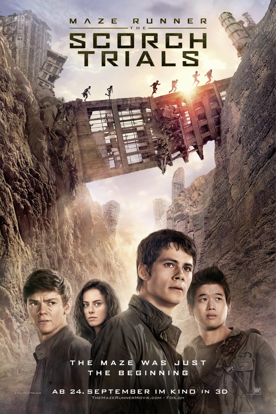 Nonton Film Maze Runner: The Scorch Trials (2015)