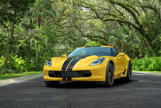Hertz Celebrates 100th Anniversary with Special Edition Chevrolet Corvette Z06