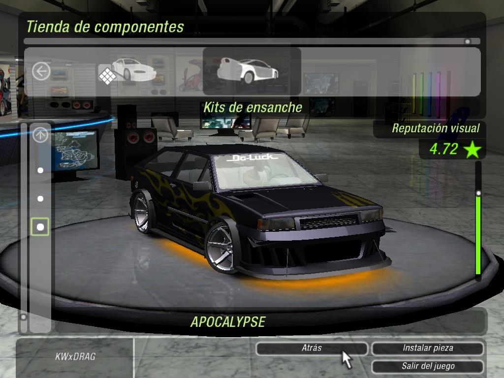Nfsu2 car mods free download