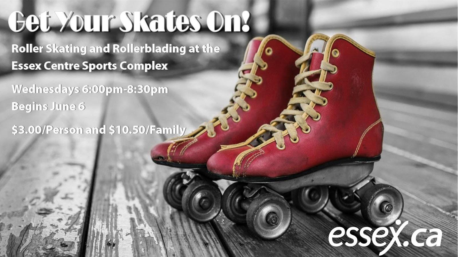 Roller skating in essex