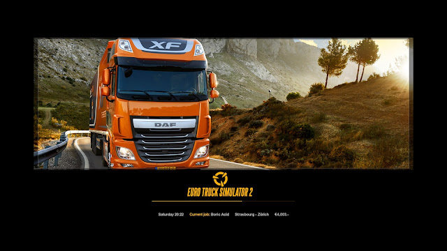 ets 2 new photo loading screens 1, daf