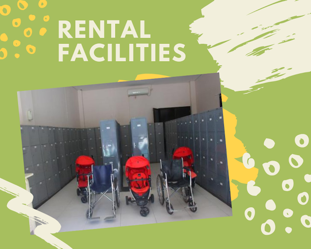 Rental Facilitas at Jungleland Adventure Theme Park
