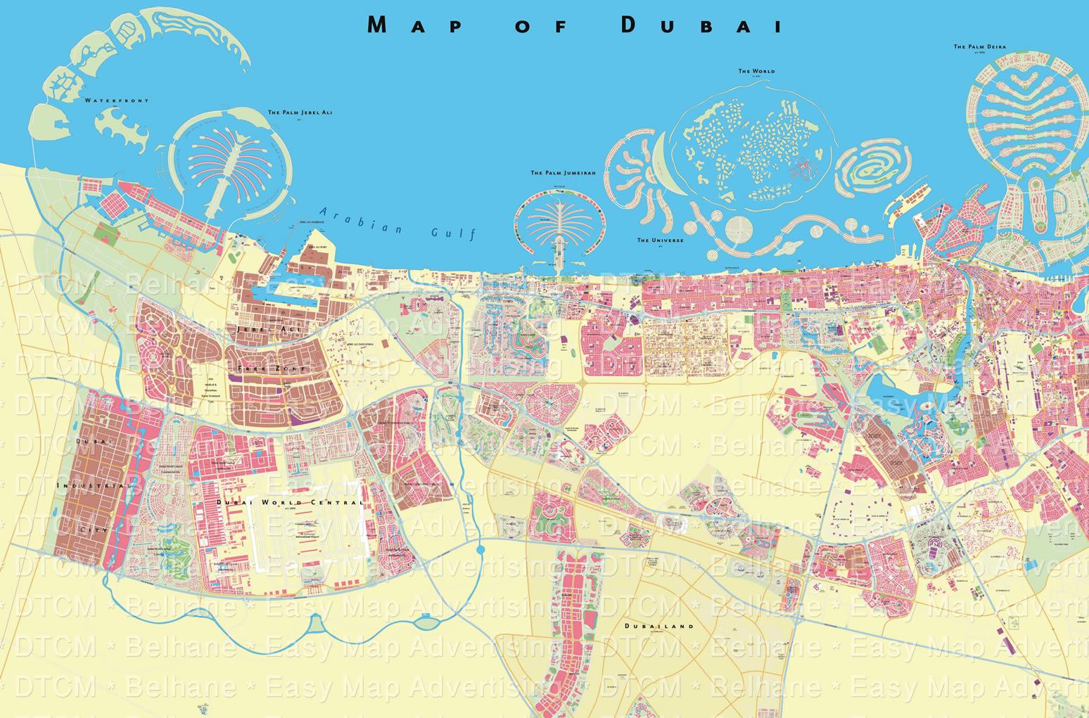 DUBAI-MAP+02 Dubai Map on africa map, arabian gulf map, europe map, germany map, united arab emirates, dubai international airport, sharjah city map, japan map, middle east map, dubai mall, fujairah map, emirates airline, dead sea map, spain map, uae map, abu dhabi map, burj al-arab, turkey map, istanbul map, abu dhabi, kuwait map, israel map, qatar map, ski dubai, seattle map, palm islands, palm jumeirah, beirut map, burj khalifa,