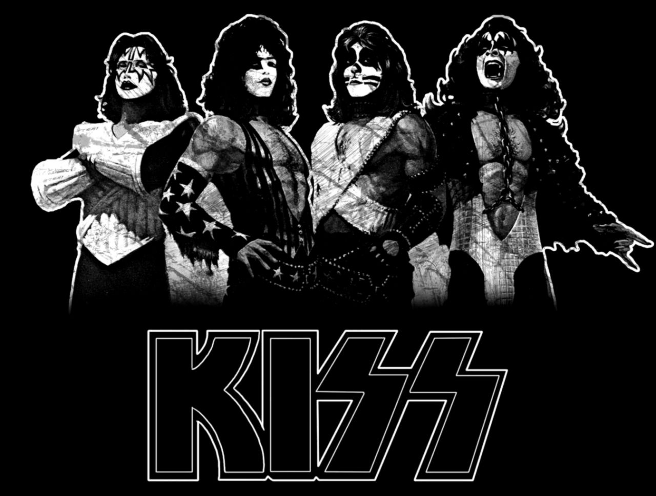 Awesome Kiss Band Wallpapers Photos