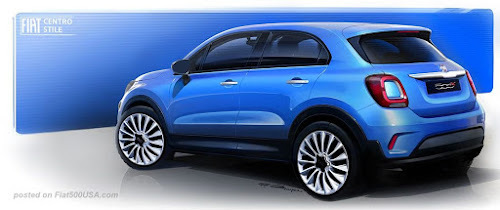 Fiat 500X Pop Concept Rear
