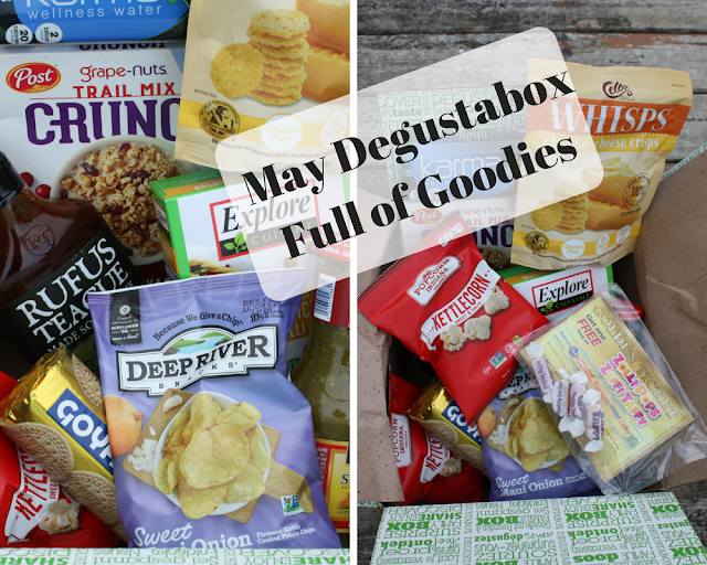 May Degustabox full of foodie goodies