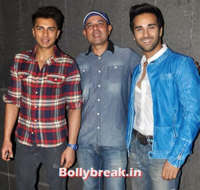 Bilal Amrohi, Atul Agnihotri and Pulkit Samrat, Bollywood Celebs at Jai Ho Special Screening