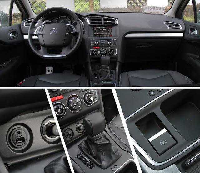 Novo Citroen C4 Lounge 2017 - interior