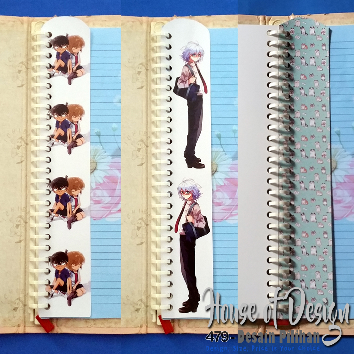 PEMBATAS BINDER MINI 26 RING UKURAN B5 ANIME CUSTOM