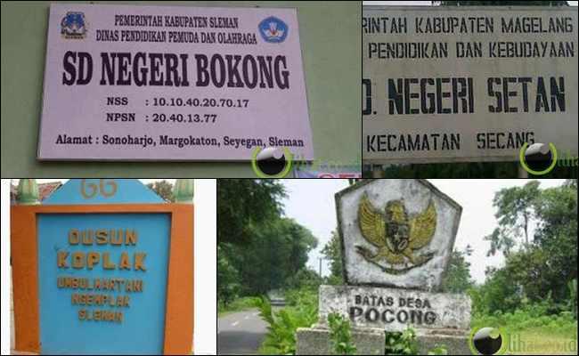 8 Nama Sekolah dan Desa Terlucu di Indonesia