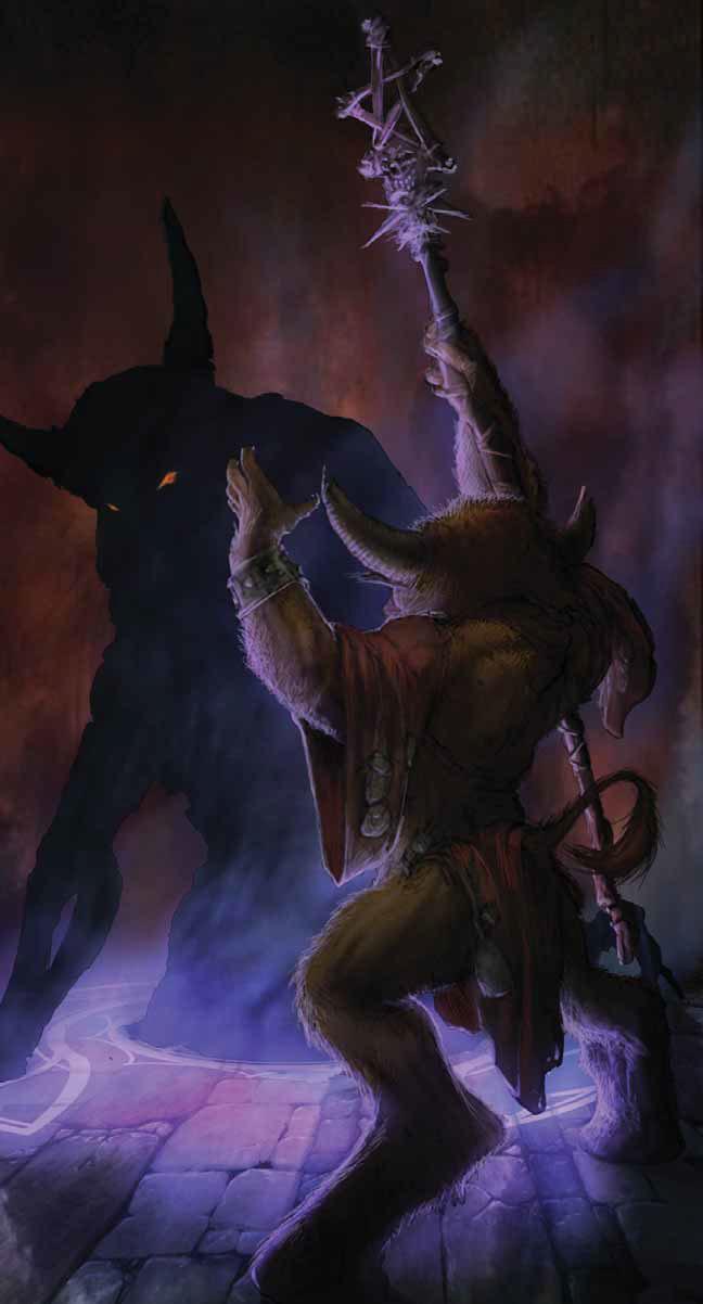 Baphomet 5e : baphomet, Power, Score:, Dungeons, Dragons, Guide, Baphomet,, Demon, Minotaurs