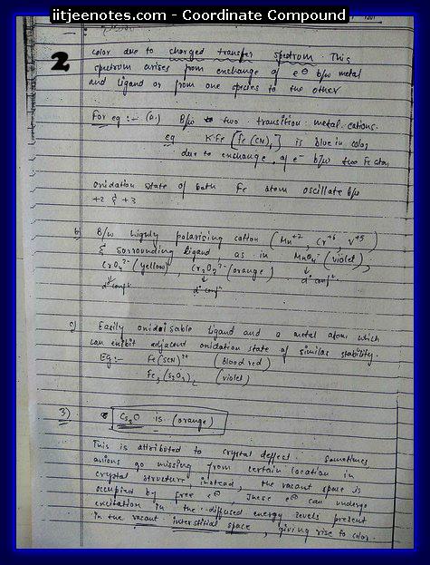 Co-Ordinate Compound2