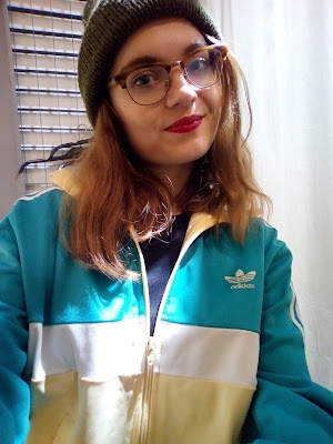 vintage clothing second hand think twice adidas vest 80s style