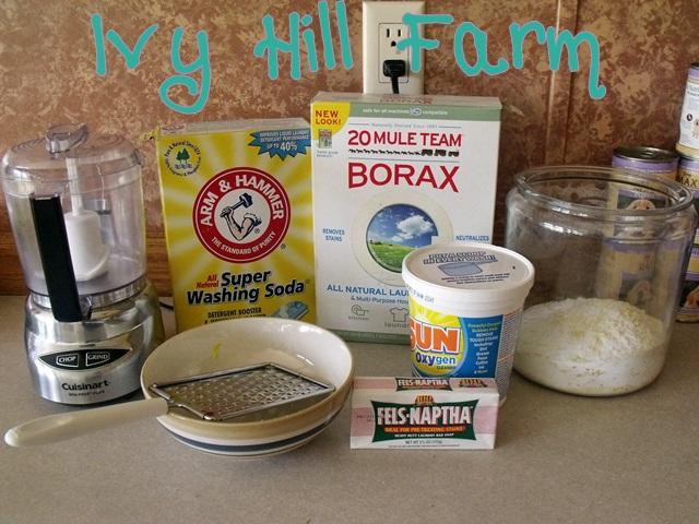 Ivy Hill Farm Homemade Laundry Soap
