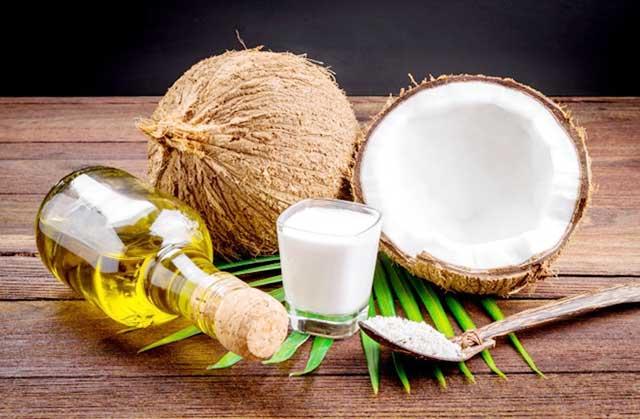 dầu dừa giúp trắng da
