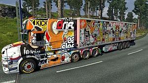 Sticker bomb trailer mod