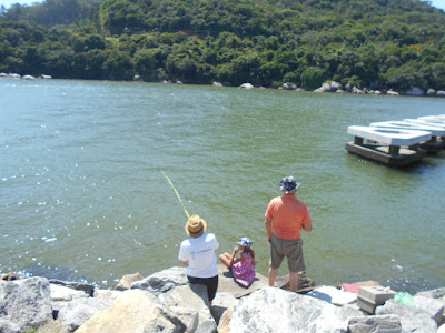 Pescaria no Molhe da Barra Sul