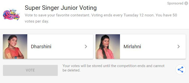 super singer junior 6 vote