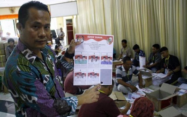 Ketua KPU Kota Pekanbaru Amirudin Sijaya