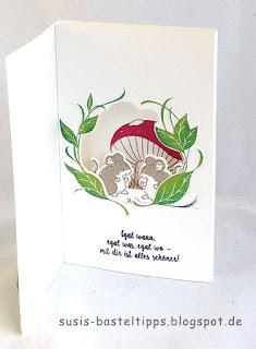 kindergeburststag märechen mäuse fliegenpilz sweet Storybook märchenwald thinlit stampin up demonstratorin in coburg