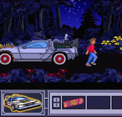 El DeLorean en Monkey Island