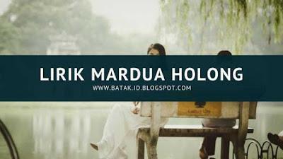 Lirik Mardua Holong
