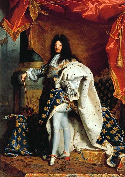 Louis XIV by Hyacinthe Rigaud, 1701