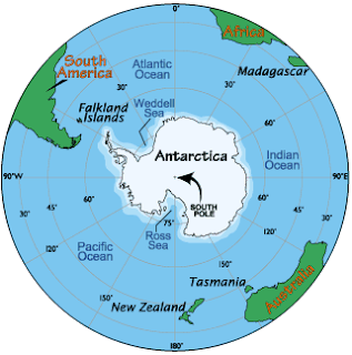 Karaktristik Benua Antartika Adalah