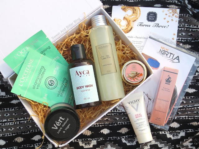 My Envy Box 3rd Anniversary Box October 2016