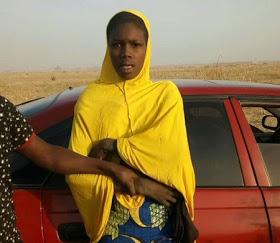 female suicide bomber speaks