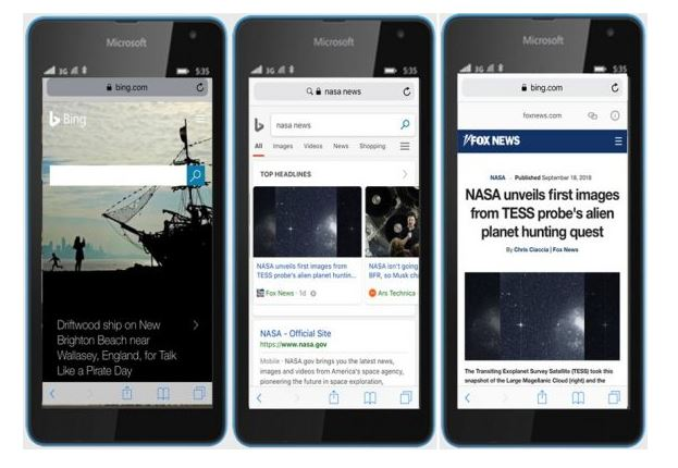 Bing Finally Rolls Out AMP Viewer On Mobile Search
