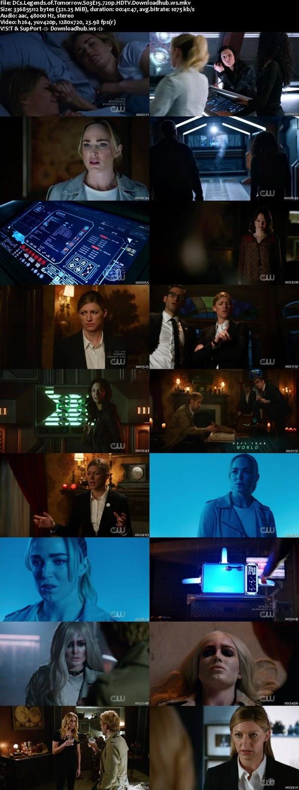 DCs Legends of Tomorrow S03E15 320MB  720p