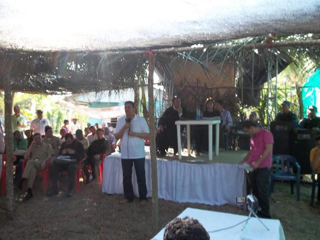 Intervención de Edwar Cobos Téllez en Mampujan (Bolívar – Colombia)  - Audiencia de Seguimiento  Reparación Integral a las Víctimas de  Marialabaja