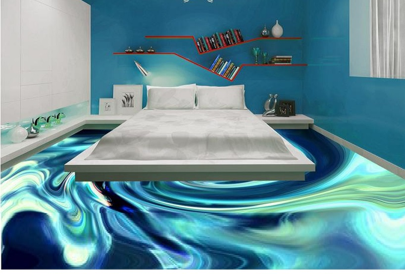 3d Water Motion 3d Floors With Lead Lighting Illusion