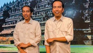 Patung Lilin Jokowi di Madame Tussauds Hong Kong Gunakan Batik