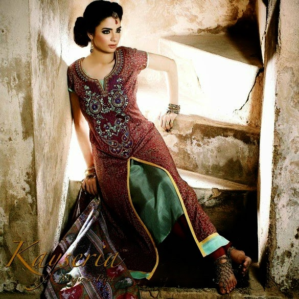 Latest Kayseria Rang-e-Mahrani Eid Collection 2014